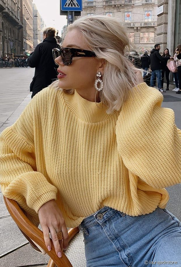 Comment porter un pull jaune en automne-hiver ? Nos conseils mode !