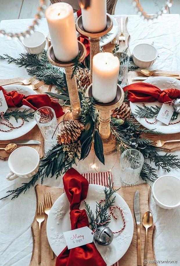 Tables de Noël : nos plus belles idées de décorations pour les fêtes de fin d'année