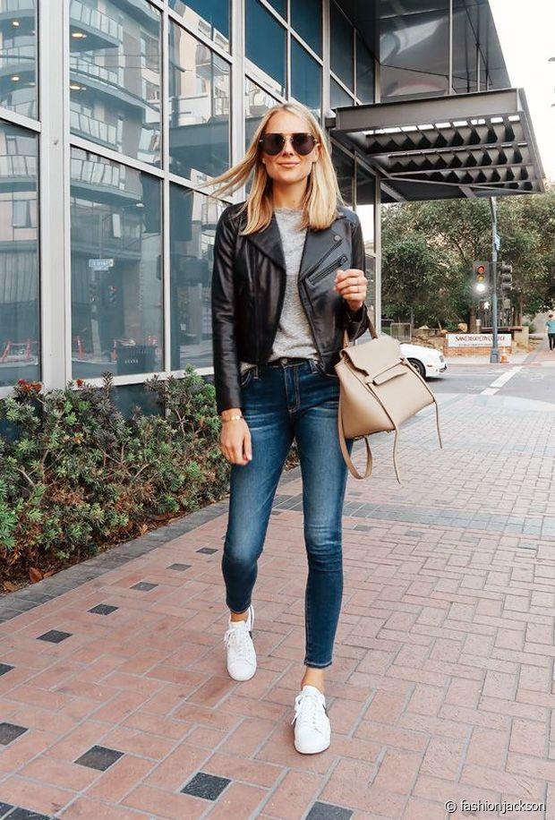 Comment porter le perfecto en cuir ?