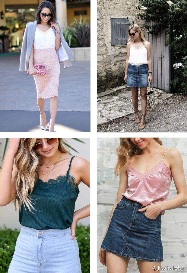 En jupe longue ou en jupe en jean, c'est un vrai caméléon du style