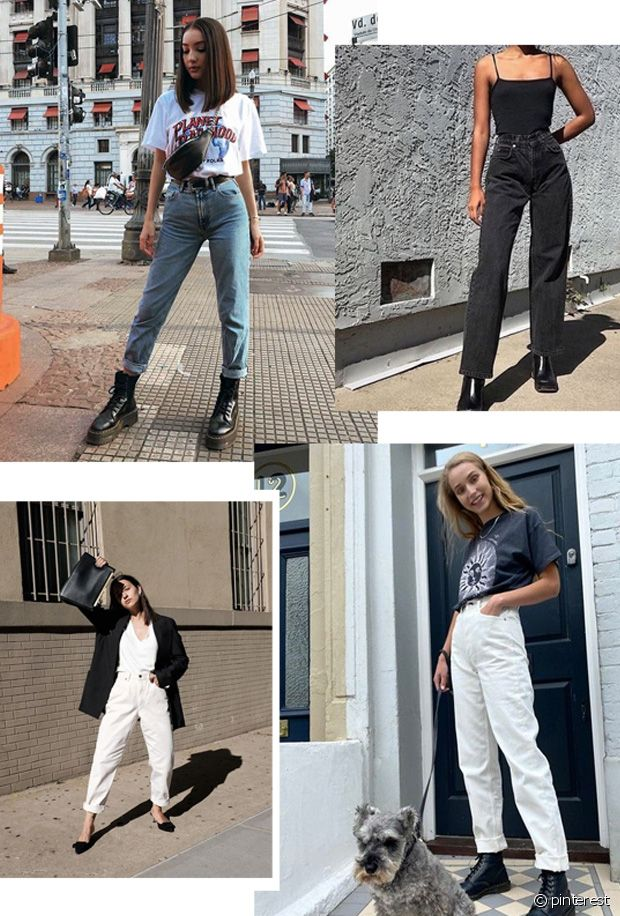 Bleu, blanc, noir, gris... le jean Mom se décline dans toutes les couleurs