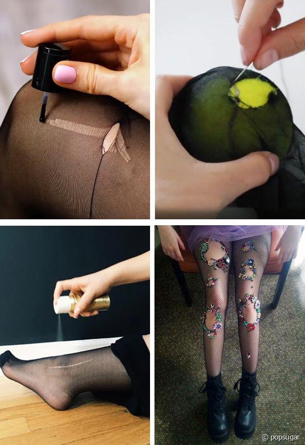 Vernis à ongles, laque pour cheveux, couture, broderies... Toutes les techniques sont bonnes pour leur redonner une seconde vie !