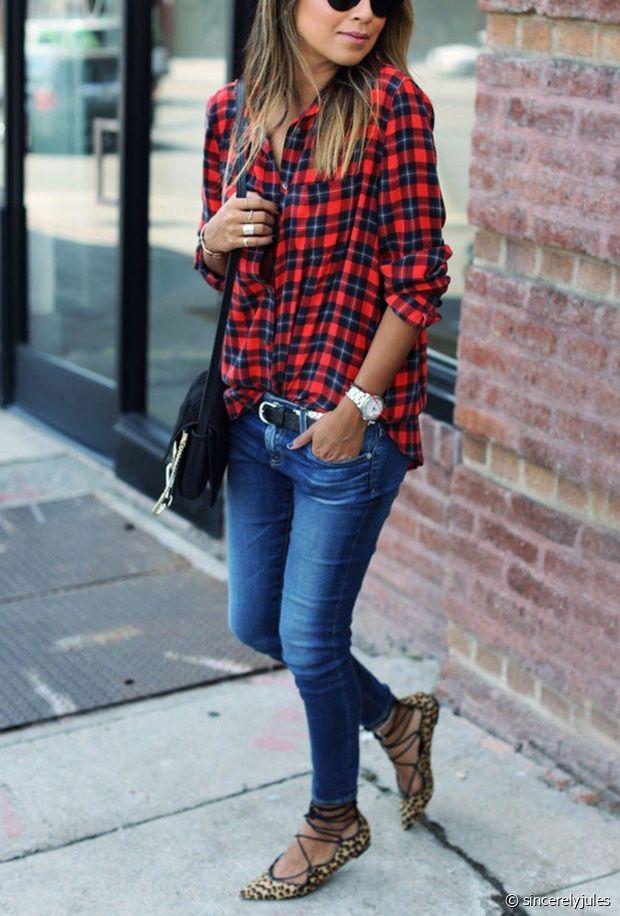 Sélection de chemises à carreaux tendances pour femmes