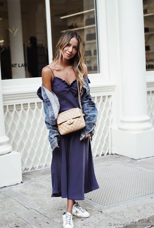 Comment porter la slip dress ou la robe façon nuisette ?