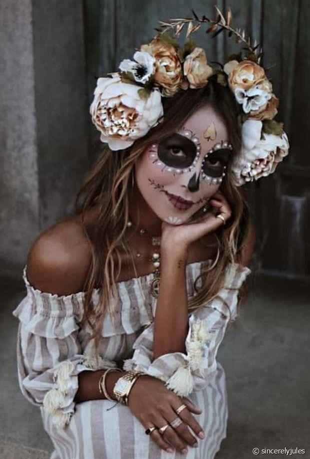 Idées de maquilages pour femmes pour halloween faciles à réaliser