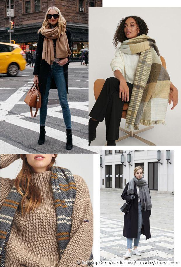 Plate, tricotée, torsadée, en cachemire... il y en a pour tous les goûts