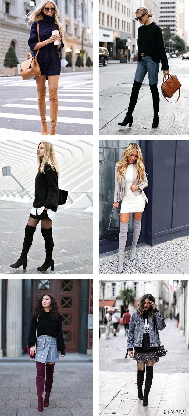 Jean, jupe, robe, robe-pull... rien ne résiste aux cuissardes !
