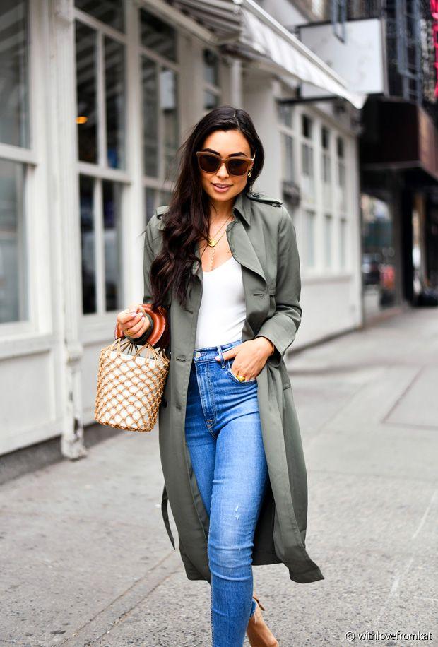 Avec quoi porter du vert kaki cet automne-hiver ?