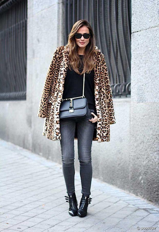 Comment porter le motif léopard en automne-hiver ?