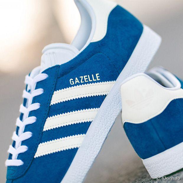 NEED : ces jolies Gazelles suédées bleues