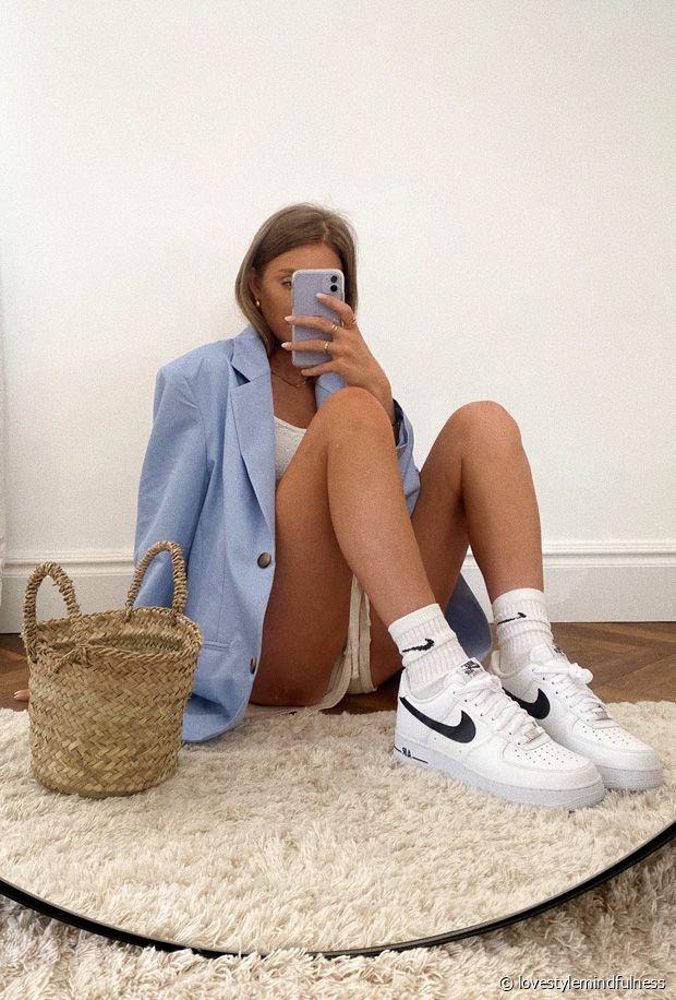 Comment porter des baskets Nike Air Force 1 cet été 2020 ?
