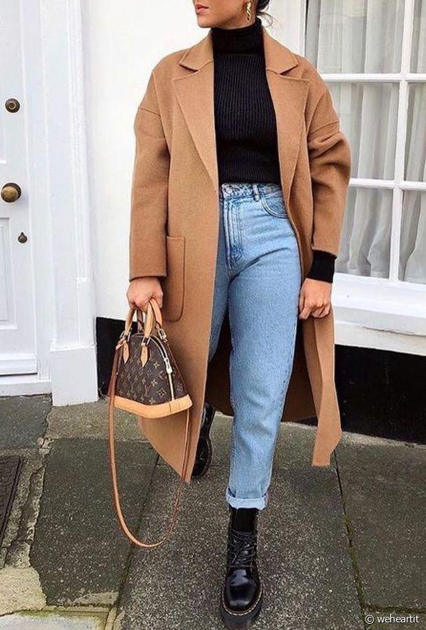 Quelles chaussures porter avec un jean Mom en automne-hiver