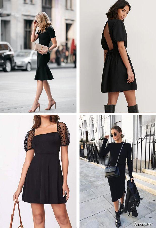 En escarpins, en baskets, en cuissardes ou en boots : la petite robe noire est toujours une bonne idée !
