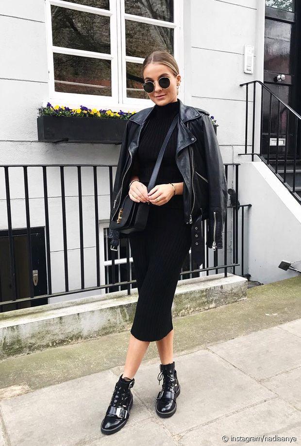 Comment porter un total look noir en hiver ? Nos bons conseils mode !