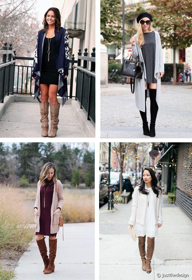 Robe courte, cuissardes et gilets longs : le triplé de tendances