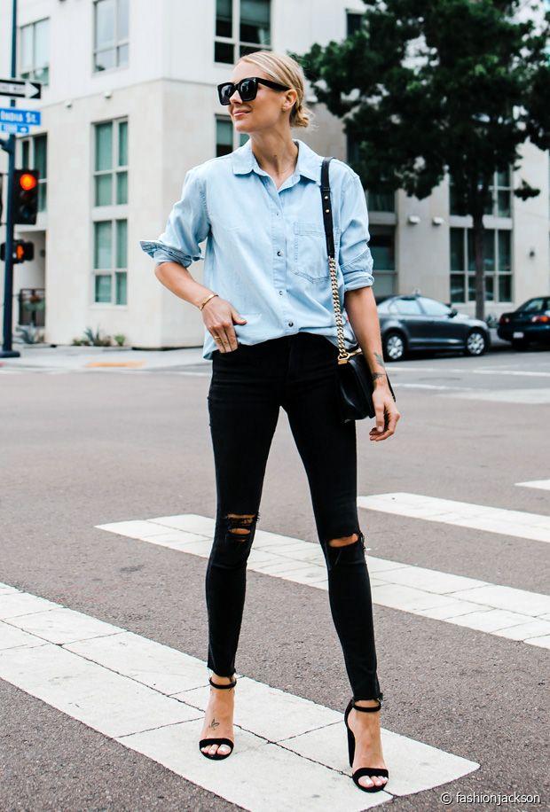 3 looks pour adopter la chemise en jean