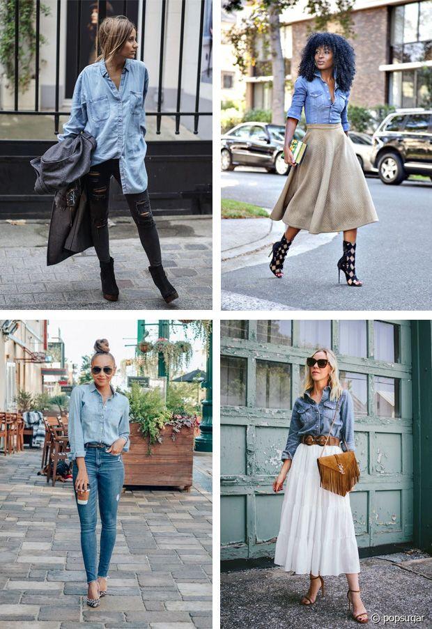 En jupe, en jean, en pantalon... C'est un vrai caméléon du style