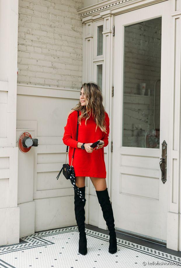 Sélection de robes rouges canons pour l'hiver