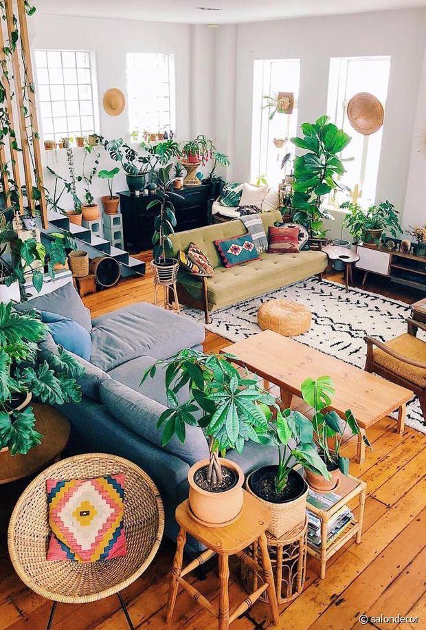 Un intérieur hippie chic comme on les aime