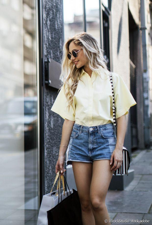 Comment porter un short en jean au printemps-été ?