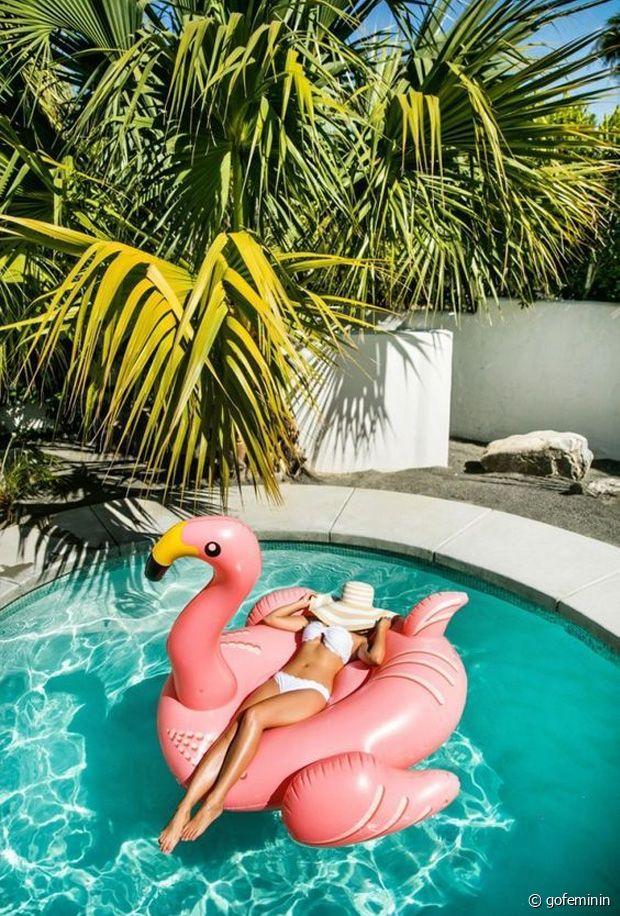 Sélection de bouées gonflables fantaisies pour la piscine cet été