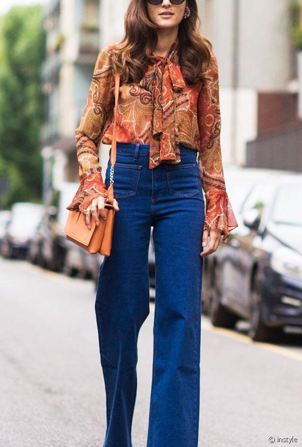 La blouse 70's parfaite !