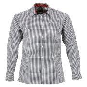 Chemise droite à carreaux vichy et col américain- chemises - vêtements - merc of london