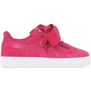 Soldes ! baskets suede heart snk - feminin - rose - puma