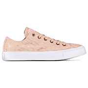 Baskets converse chuck taylor all star ox leopard rose femme