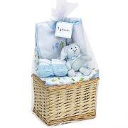 Panière bébé bleu