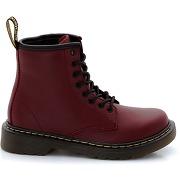 Dr martens delaney juniors lace boot - feminin - rouge - dr martens