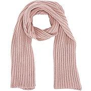 Nora, écharpe à grosses mailles, rose