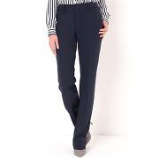 Pantalon droit entrejambe 78cm stretch - r essentiel