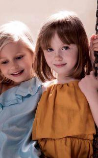 robes à volant enfant