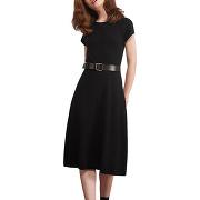 Robe en maille zéro coutures noir comptoir des cotonniers femme