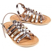 Hedgehog gladiator sandals - silver multicolorehedgehog gladiator sandals - silver multicolore - fille
