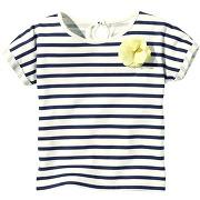 T-shirt marinière manches courtes fille - 3 suisses collection