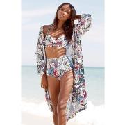 Femme Veste Gilet Kimono Fleuri Femme Mode Boho Chic Printemps ...