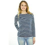 Pecheurf marine/blanc- mariniere femme