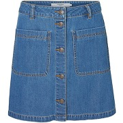 Jupe denim, poches vero moda, vmgrace bleu - vero moda