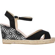 Sandales compensées bahia - noir - femme - desigual - tailles disponibles: 36,37,38,39,40,41