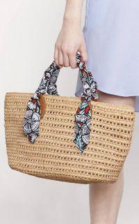 Un sac en paille pour l'été