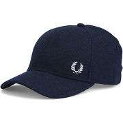 Casquettes fred perry - casquette laine logo bleu