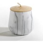 Pot en marbre forme ovale, edwald vert - am.pm