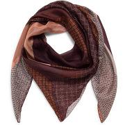 Carré en soie couleur muscat - monoprix femme