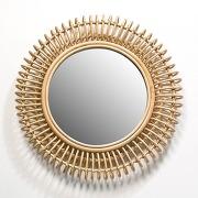 Miroir rotin tarsile, rond Ø60 cm - am.pm
