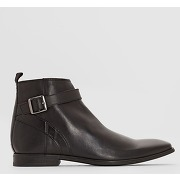 Boots cuir base london albert. soldes !
