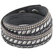 Bracelet slake pulse - gris - femme - swarovski