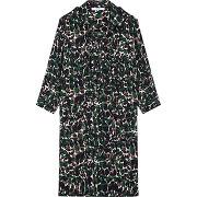 Robe chemise imprimé camouflage - multicolore - femme - gerard darel