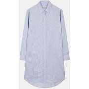 La robe chemise en popeline